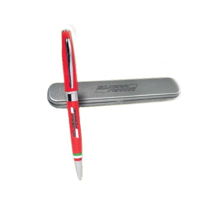 2018, Red, Ferrari Pen in Metal Box