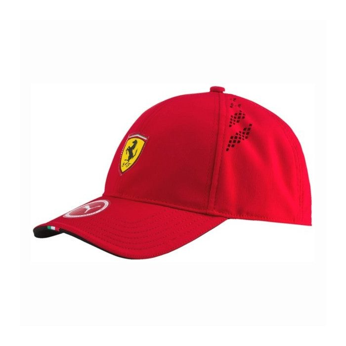 2017, Red, Adult S/M, Puma Ferrari Force Baseball Cap