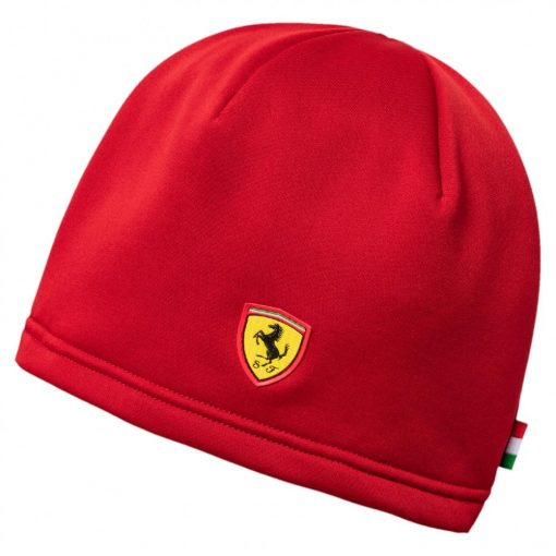 Puma Ferrari Fan Beanie, Red, 2017 - FansBRANDS
