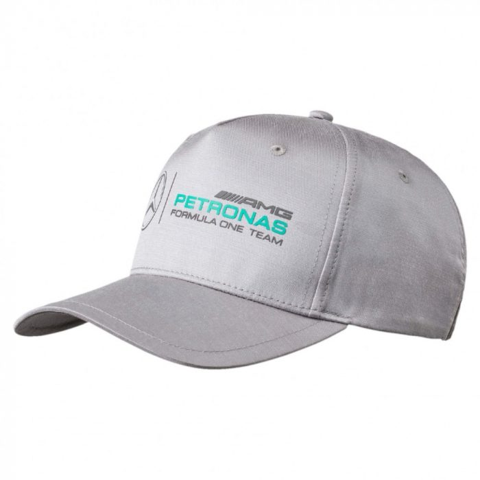 2017, Grey, S-M, Puma Mercedes Logo Baseball Cap