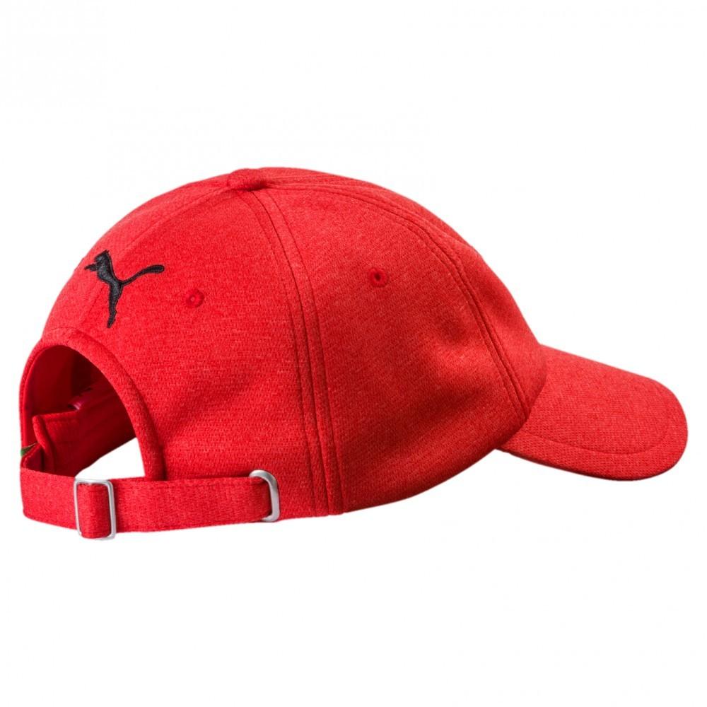 2017 Red Adult Puma Ferrari Fan Baseball Cap