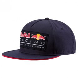 2018, Blue, Adult, Red Bull Logo Flatbrim Cap
