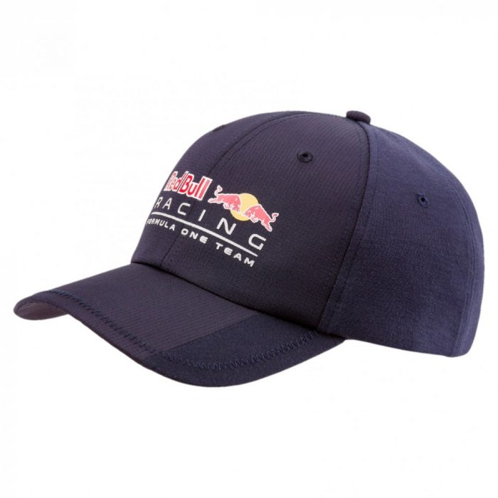 2018, Blue, Adult, Red Bull Logo Baseball Cap