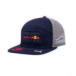 2018, Blue, Adult, Red Bull Ricciardo Flatbrim Cap