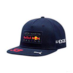 2018, Blue, Adult, Red Bull Verstappen Flatbrim Cap