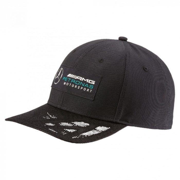 2017, Black, Adult, Puma Mercedes Logo Baseball Cap