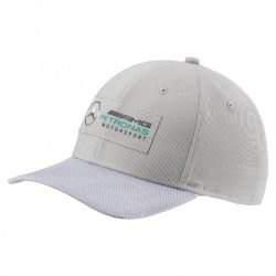 2017, Silver, Adult, Puma Mercedes Logo Baseball Cap