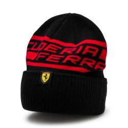 2018, Black, Adult, Puma Ferrari Fan Beanie