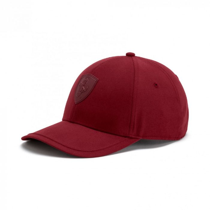 2018, Claret, Adult, Puma Ferrari LS Baseball Cap