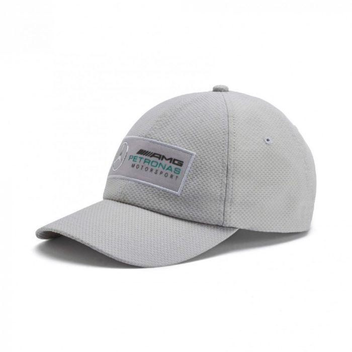 2018, Silver, Puma Mercedes Fanwear Baseball Cap