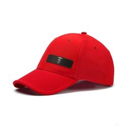 2019, Red, Puma Ferrari Lifestyle Baseball Cap