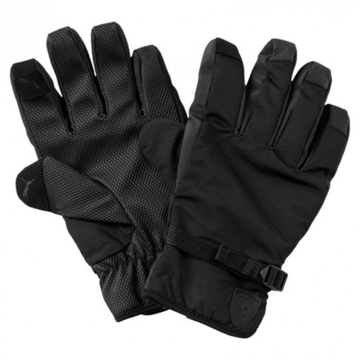 Puma Ferrari Lifestyle Gloves, Black, 2018 - FansBRANDS