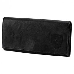 2018, Black, Puma Ferrari Womens Lifestyle Wallet