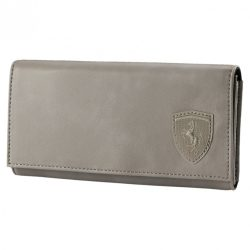 2018, Grey, Puma Ferrari Womens Lifestyle Wallet