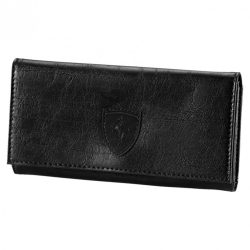 2018, Black, Puma Ferrari Lifestyle Womens Wallet