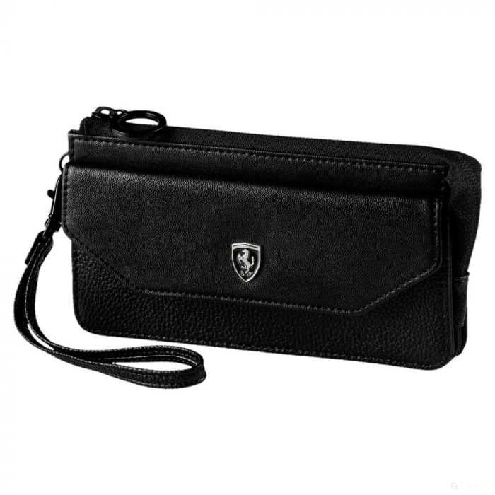 2019, Black, Puma Ferrari Lifestyle Womens Wallet