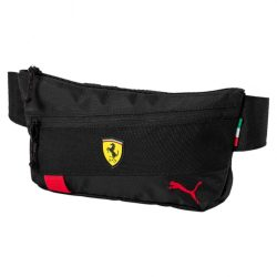 2017, Black, Puma Ferrari Scudetto LS Waist Bag
