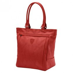 2018, Red, 39x35x18 cm, Puma Ferrari Womens Scuderia Shopper Bag