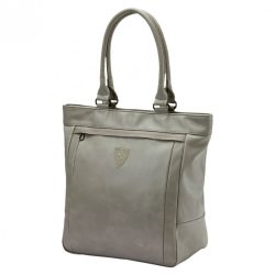 2018, Grey, 39x35x18 cm, Puma Ferrari Womens Scuderia Shopper Bag