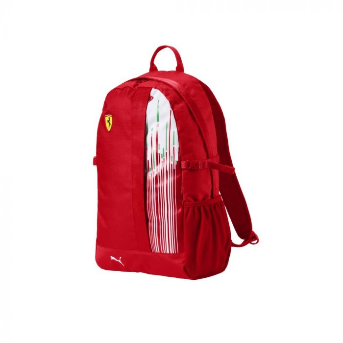 2018, Red, 29x47x17 cm, Puma Ferrari Racing Backpack