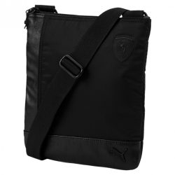 2018, Black, 25x20x5 cm, Puma Ferrari LS Flat Portable Bag