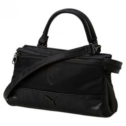 2018, Black, 24x14x7 cm, Puma Ferrari LS Mini Womens Satchel