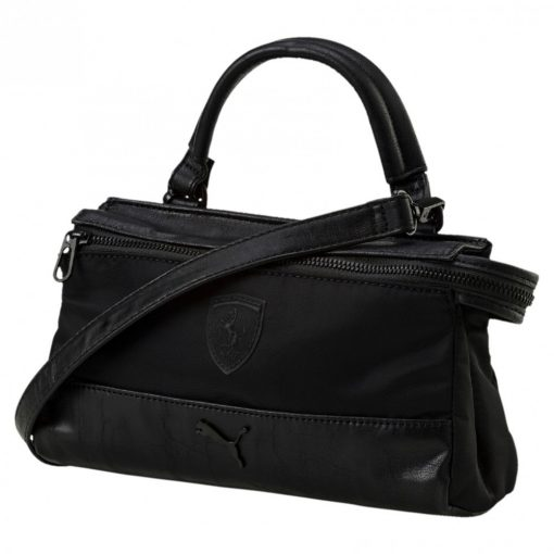 Puma Ferrari LS Mini Womens Satchel, Black, 2018 - FansBRANDS