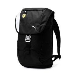2019, Black, Puma Ferrari Lifestyle Backpack