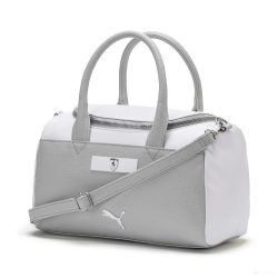 2019, White, Puma Ferrari Womens Scuderia LS Handbag