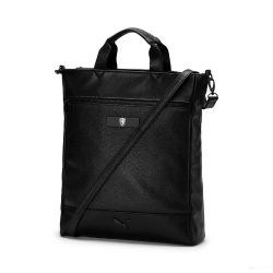 2019, Black, Puma Ferrari Womens Scuderia LS Shopper Bag