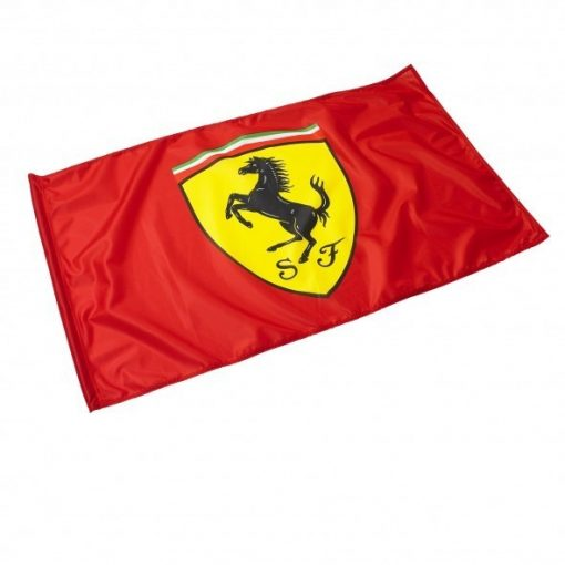 Ferrari Scudetto Flag , Red, 2016 - FansBRANDS