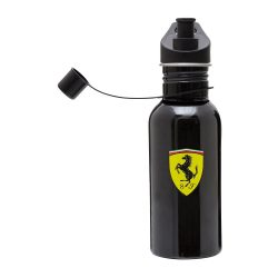 2017, Black, Ferrari metal Scudetto Water Bottle