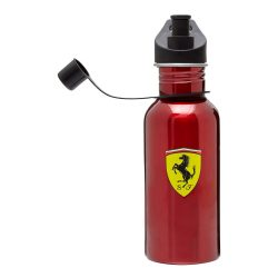 2017, Red, Ferrari metal Scudetto Water bottle