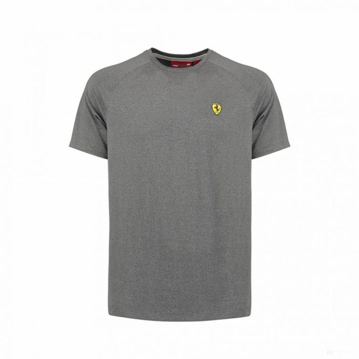 2018, Grey, XXL, Ferrari Team Shirt