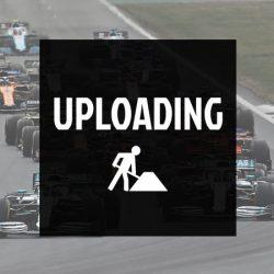 2018, Black, Ferrari Round Neck Womens Racer T-shirt