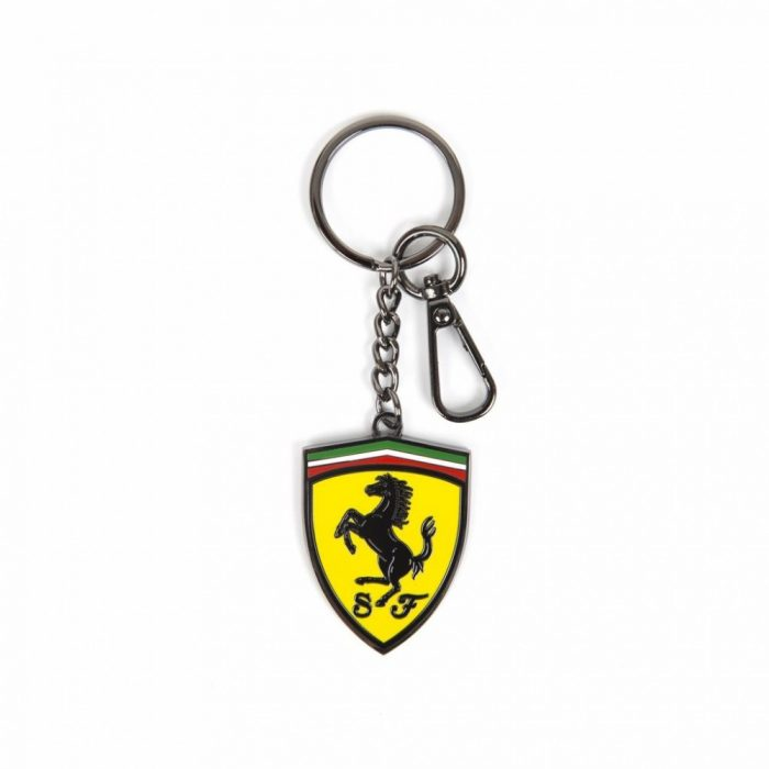 2018, Yellow, Ferrari Scudetto Metal Keyring