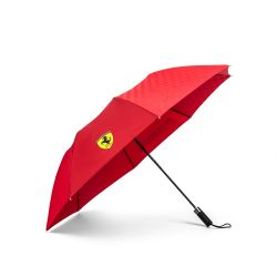 2018, Red, Ferrari Scudetto Compact Umbrella
