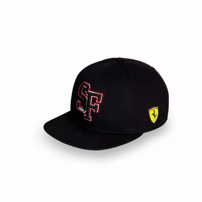 2018, Black, Adult, Ferrari Baseball Cap