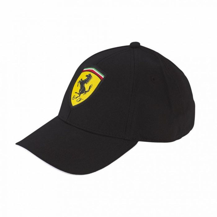 2018, Black, Adult, Ferrari Classic Baseball Cap