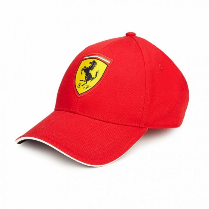 2018, Red, Kids, Ferrari Scudetto Baseball Cap