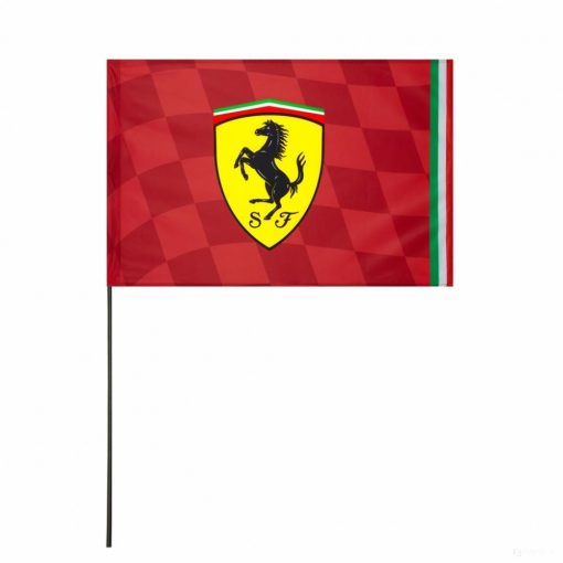 Ferrari Scuderia Logo Flag, Red, 2019 - FansBRANDS