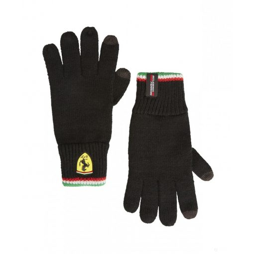 Ferrari Scuderia Gloves, Black, 2019 - FansBRANDS