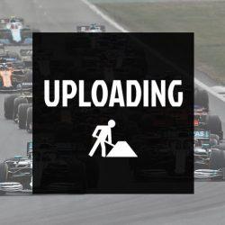 2019, Black, Ferrari Round Neck Angled Scuderia T-Shirt