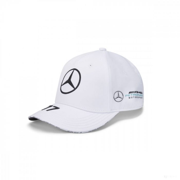 2020, White, Adult, Mercedes Valtteri Bottas Baseball Cap