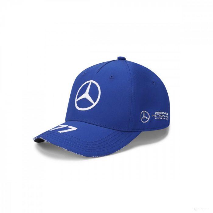 2020, Blue, Adult, Mercedes Valtteri Bottas Baseball Cap