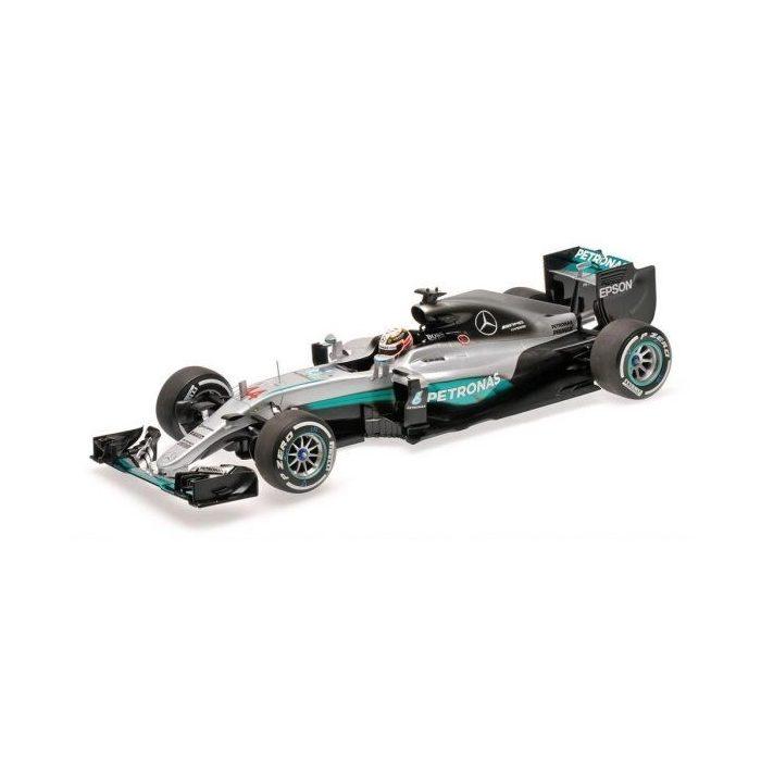 2016, Silver, 1:43, Mercedes Hamilton W07 Hybrid model car