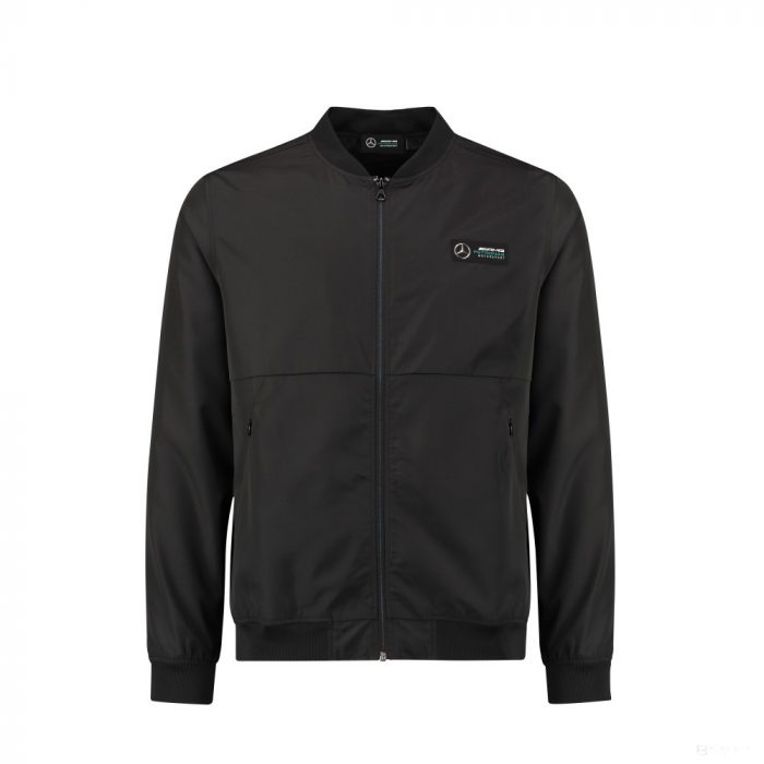 2018, Black, M, Mercedes Bomber Jacket