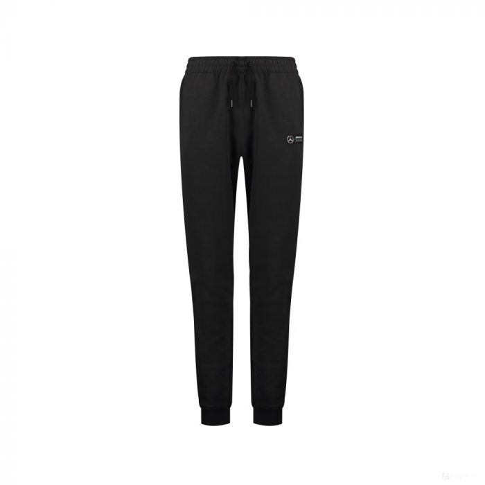2018, Black, XS, Mercedes Logo Pants