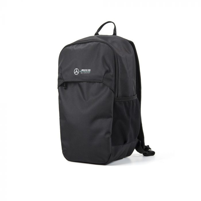 2018, Black, 29x47x17 cm, Mercedes Logo Backpack