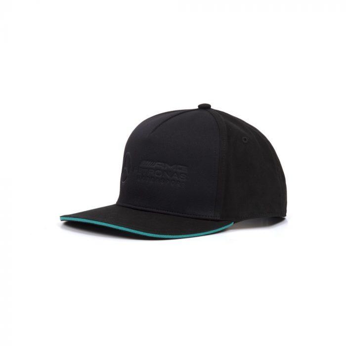 2018, Black, Adult, Mercedes Logo Baseball Cap